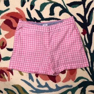Pink Gingham Shorts